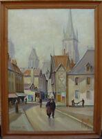 "Knud Pedersen Svendsberg *1889, ""Rouen"", datiert 1952"