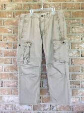 Levi Strauss & Co. Boys Youth Capri Pants Khaki/Tan Sz 32