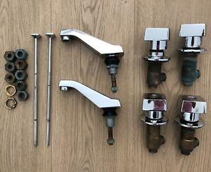 Kohler K-6952 Alterna Lavatory Faucet Set (2) - Polished Chrome
