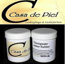CDP FLÜSSIGLEDER Refiller Lederspachtel  Leder Reparatur - 20ml -  schwarz