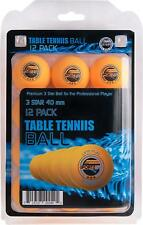 3-Star Table Tennis Balls, (12-Pack)-Sportly