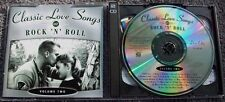 TIME LIFE Classic Love Songs of Rock and Roll Volume Two 2  x CD Holland BV