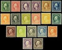 498//518, Mint F/VF NH - P.O. Fresh Set to the $1 CV $735.00 - Stuart Katz