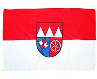 Fahne Unterfranken Querformat 90 x 150 cm Hiss Flagge Region Unter Franken