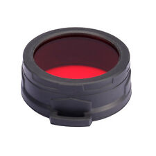 NiteCore NFR60 60mm Red Lens Cap Filter Diffuser for EA8 MH40GT MH41 TM11 TM15