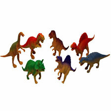 8 Piece Prehistoric Dinosaur Toy Collection - 10cm Model Set