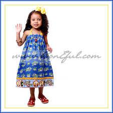 BonEful Boutique Custom Girl 3 4 5 T S RTS Wizard of Oz Fabric Halter Dress Tops