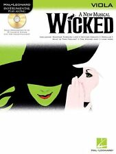Wicked: Viola: A New Musical for Viola [With CD] (Hal Leonard Instrumental Play-