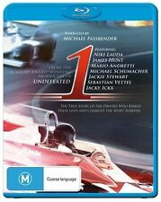 1 (Blu-ray, 2013) Formula One, Michael Fassbender