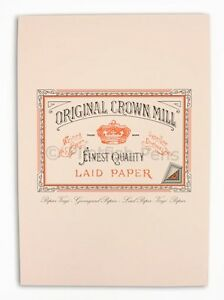 Crown Mill Luxury A4 Writing Paper Pad 50 Sheets PINK