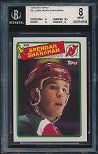 1988-89 Topps rookie #122 Brendan Shanahan rc BGS 8