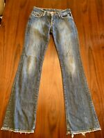 Lucky Brand Women's by Gene Montesand Womens Jeans Blue Bootcut Size 4/27