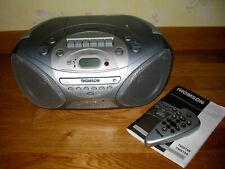 CHAINE HIFI Portable Lecteur CD Radio K7 THOMSON