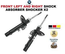FOR PEUGEOT 207 2006-ON FRONT LEFT + RIGHT SHOCK ABSORBER SHOCKER X2