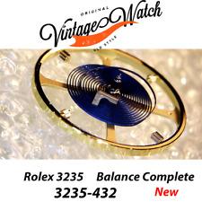 NEW Rolex BALANCE 3235-432 COMPLETE Bilanciere PARACHROM Blu Rolex