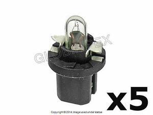 Volvo (76-07) Bulb (2721MF) Dashboard Instruments OEM (5) + 1 year Warranty