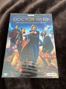 Doctor Who: The Complete Eleventh Series DVD (2019) Jodie Whittaker New Region 1