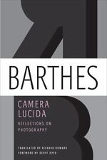 Camera Lucida: Reflections on Photography, Roland Barthes