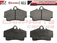 FOR PORSCHE 911 CARRERA BOXSTER CAYMAN REAR GENUINE BREMBO BRAKE PADS SET P65008
