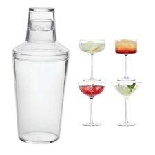 Plástico Cóctel Bebidas Agitador - Barra Martini Mezcla Batidora Bebida