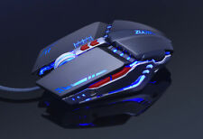 PRO Gamer Gaming Mouse 8D 3200DPI Adjustable Wired Optical fit logitech razer