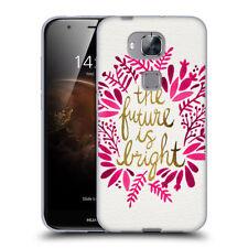 Étuis, housses et coques rose brillant pour téléphone mobile et assistant personnel (PDA) Huawei