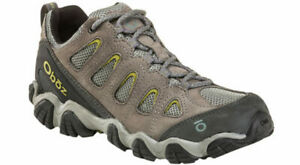Oboz Men's Sawtooth II Low Hiking Boots - Pewter NIB