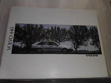 VOLVO 440, 440GL, 440 GLE AND 440 GLT/TURBO SALES BROCHURE 1990