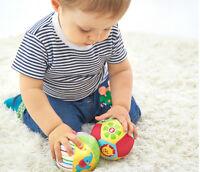 Farbe Baby Kinder Ring Glocke Ball Baby Tuch Musik Sinn Lernen Spielzeug BRSWJ
