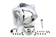 Headlamp Nacelle Cowl Assembly Chrome For Harley-Davidson Road King 1986-2013