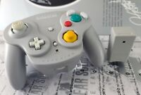 Official Nintendo WaveBird Gray Controller for GameCube Tested Authentic