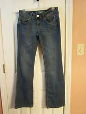 SO  Size 5 Distressed Bootcut Jeans