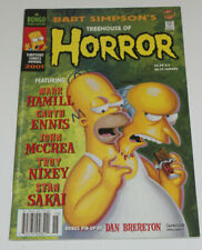 Bart Simpson's Treehouse of Horror #7 Bongo Comics NM 9.4 2001 Halloween Issue
