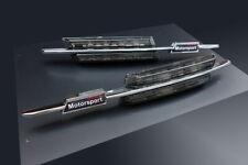 BMW M 3 Series E46 PreFacelift LED Black Side Marker Lights Turn Signals Blinker