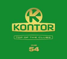 KONTOR = Top Of The Clubs 54 = Avicii/EDX/Antoine/Kaskade..=3CD= groovesDELUXE!!