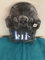 Brand New Ashland Halloween Light Up Tombstone RIP Ashland One Piece  21x14