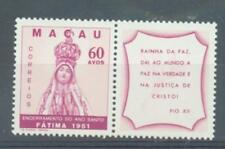 More details for macao 1951 termination of hol;y year sg.450 + label mh