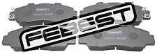 0301-RD9F Genuine Febest Pad Kit, Disc Brake, Front 45022-S10-G01