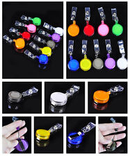 Office Supply Lot 10 Id Badge Holders Retractable Key Clip Retail And Wholesale