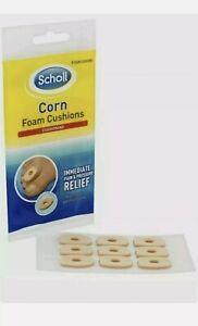 SCHOLL Callus CORN Corn Foam Cushions 9 WATERPROOF PLASTERS