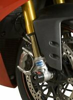 R&G Racing Fork Protectors for the Ducati 899 Panigale 2013-2015 FP0109BK BLACK