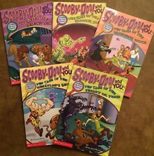 Scooby-Doo and you: A Collect the Clues Mystery Scholastic LOT the case of the..