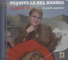 Paquita La Del Barrio Lo Mejor De Ellos Los Grandes Compositores CD New