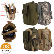 Tactical MOLLE Pouch Universal Utility Waist Carrying Bag Phone Holder US FAST