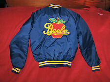 VINTAGE APPLE ORCHARD ADVERTISING JACKET USA FARMER COLLECTABLES SZ. XS IN EUC