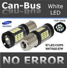 Samsung Canbus LED 1156 57W Plasma Super White Rear Turn Signal Light Bulbs R543