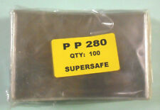 Supersafe - 100 / Pack Postcard Size Poly Holder - Heavy Weight #Ss-Pp280