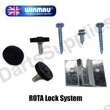 ROTA Lock Dartboard Fixing Kit (Wall Bracket, Fixings & Instructions) by Winmau