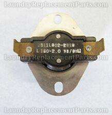 Alliance Huebsch Dryer High Limit Thermostat Disk Switch Part# M401256