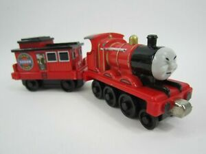 James & Musical Caboose Diecast - Thomas & Friends - Includes Batteries -